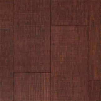 Bamboo Solida_ bamboe vloerdelen, grof bezaagd en TopazBrown (donkderbruin) gelakt