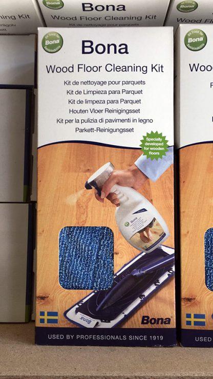 Bona kit onderhoud voor gelakte vloeren