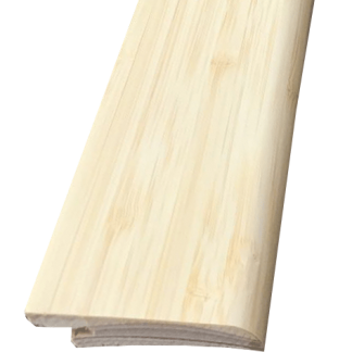 Naturel side pressed bamboe gefineerde plint, 60 x 15 mm, 2m50 lang