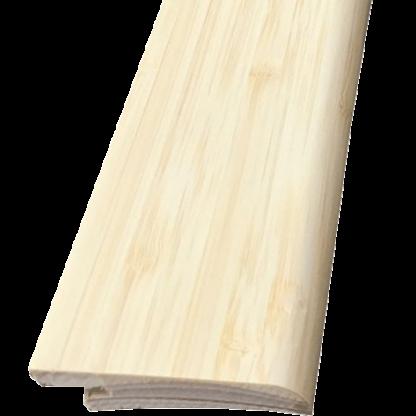 Naturel side pressed bamboe gefineerde plint, 60 x 15 mm, 2m50 lang