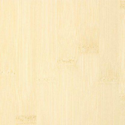 Bamboe naturel plain pressed witte lak